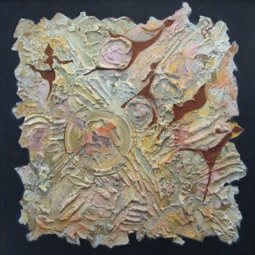 Bas Reliefs and 3d textured-paintings