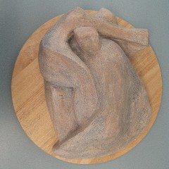 Landscape figures.Made of clay.There is an option to cast in Bronze.5 H by 15 inch L.12000$