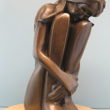 Self comfort.Bronze.20.5 H by 8 W by 10.5 inch D