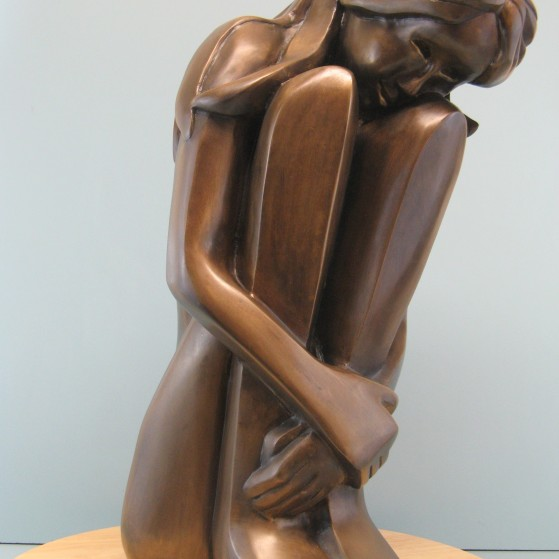 Self comfort.Bronze.20.5 H by 8 W by 10.5 inch D   18,000$