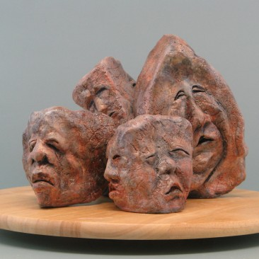Sleep like a rock (Sleepy).Made of clay.There is an option to cast in Bronze.8 H by 34 inch perimeter.10,000$