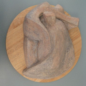 Desert landscape figures.Made of clay.There is an option to cast in Bronze.15 L by 5 inch H.