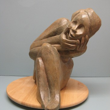 Sculptures that depict human characteristics  and emotions