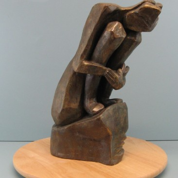 Introvert.Made of Terracotta.15.5 H by 23.5 inch perimeter.12,000$