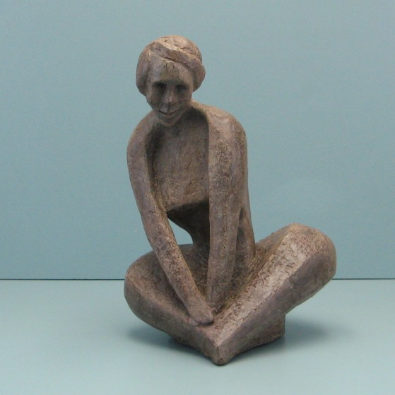 Shyness.Made of Wax.Bronze cast is optional.14 H by 10 W by 9  inch D