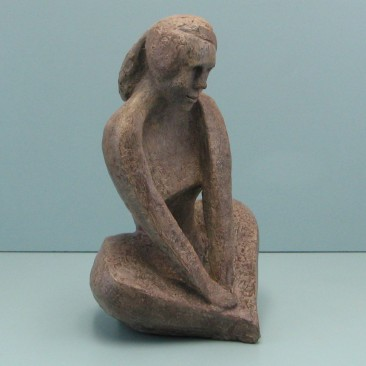 Shyness. Made  of Wax..Bronze cast is optional.14 H by 10 W by 9 inch  D