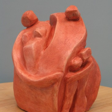 Sculptures that depict relationships