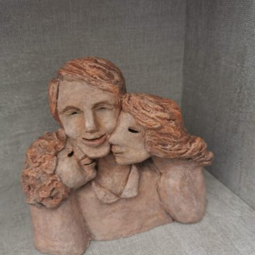 Sculptures inspired by Covid 19 time